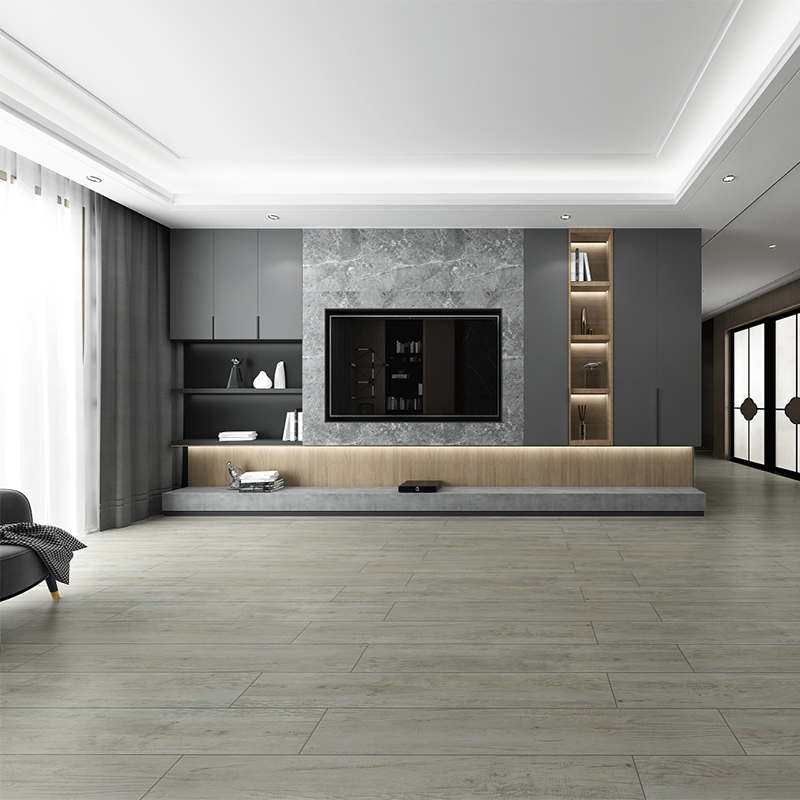 China Porcelain Ceramic Wood Look Tile Flooring For Living Room Non Slip Manufacture And Factory Ceramics,Paint Colors That Go With Black And White Tile